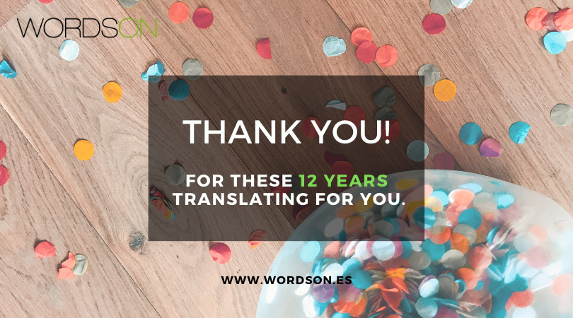12 years translating for you