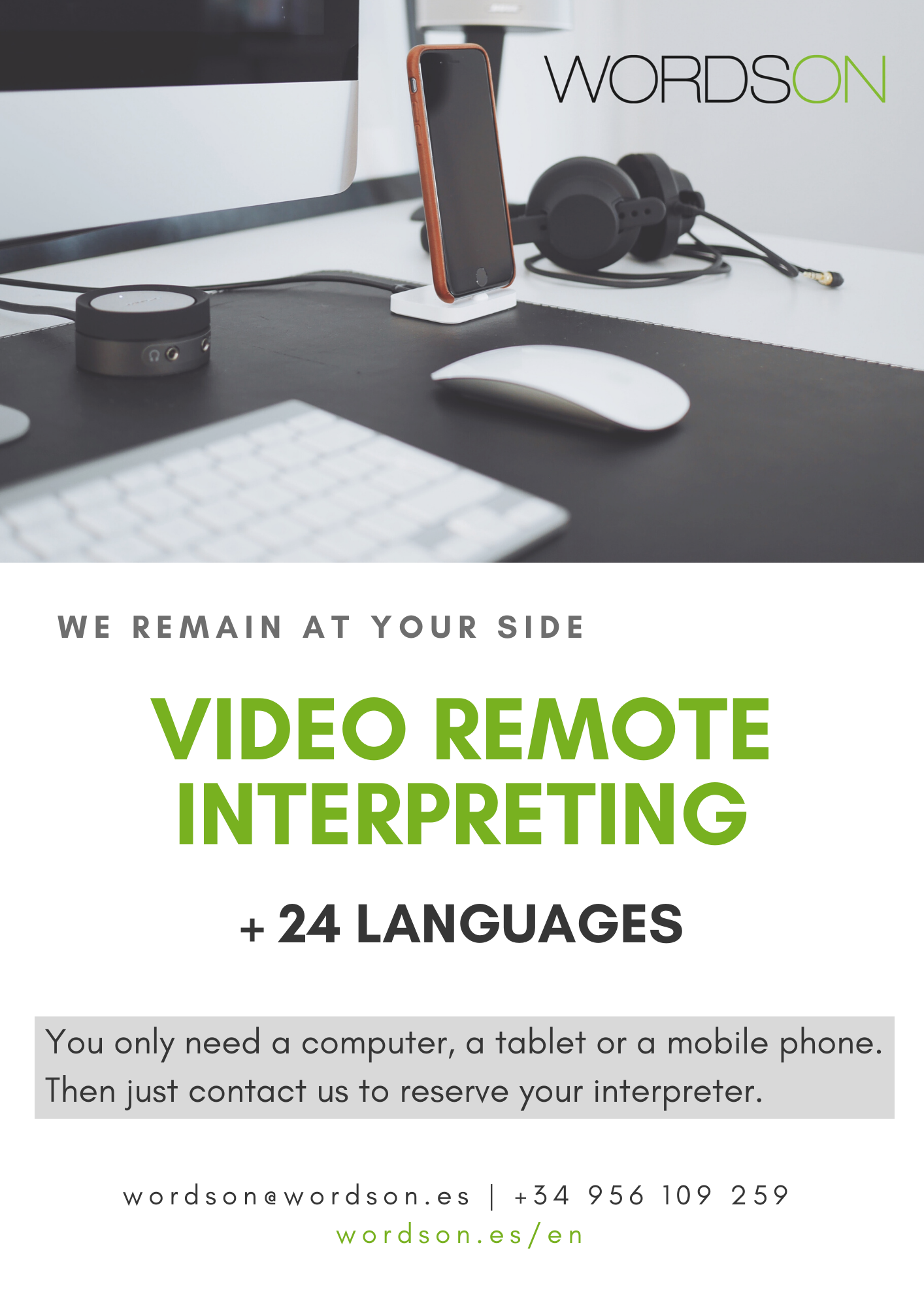 Video remote interpreting services